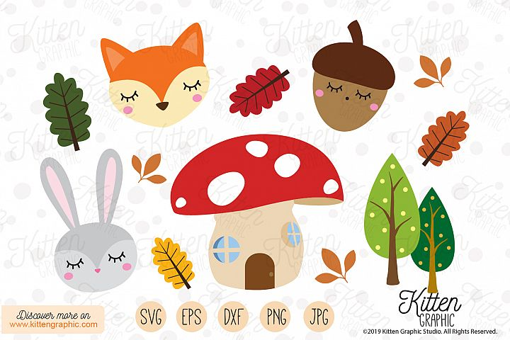 Woodland creatures - Graphics