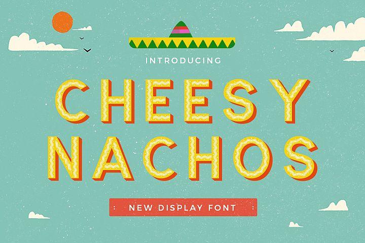 Cheesy Nachos
