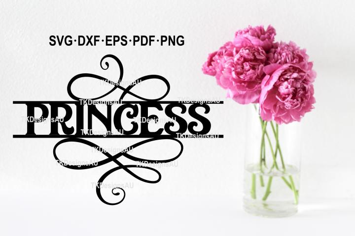 Princess SVG / Birthday SVG / Girls tshirt SVG