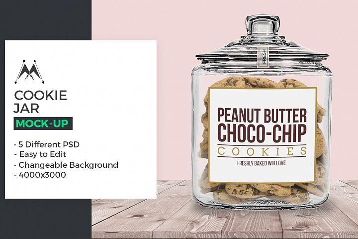 Cookie Jar Mock-Ups