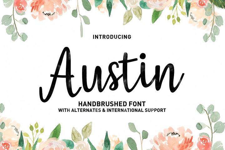 Austin Script - Free Font of The Week