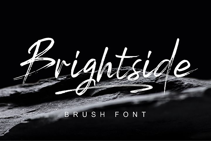 Brightside Brush Fontt