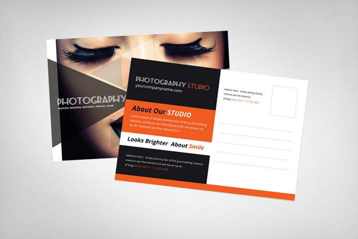 Photography Postcard Template example image 2