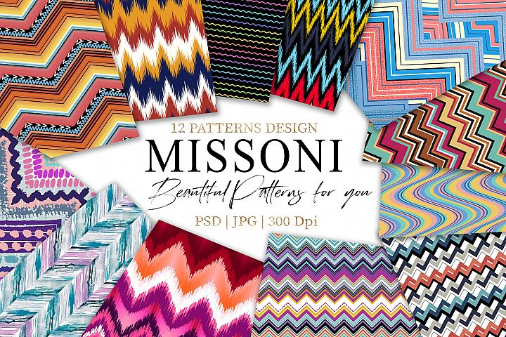 Missoni |Chevron Patterns