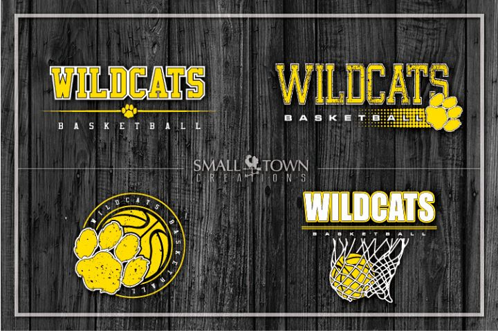 Wildcats basketball, basketball bundle, PRINT, CUT, DESIGN