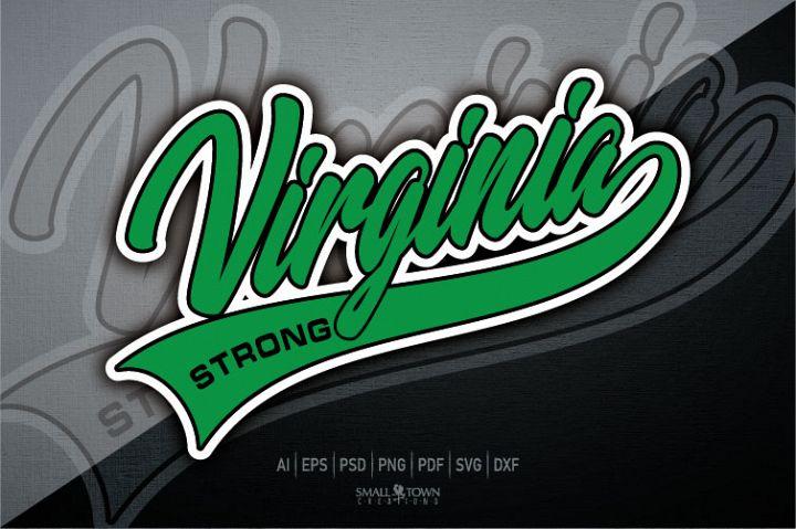Virginia, Virginia Strong, PRINT, CUT, DESIGN