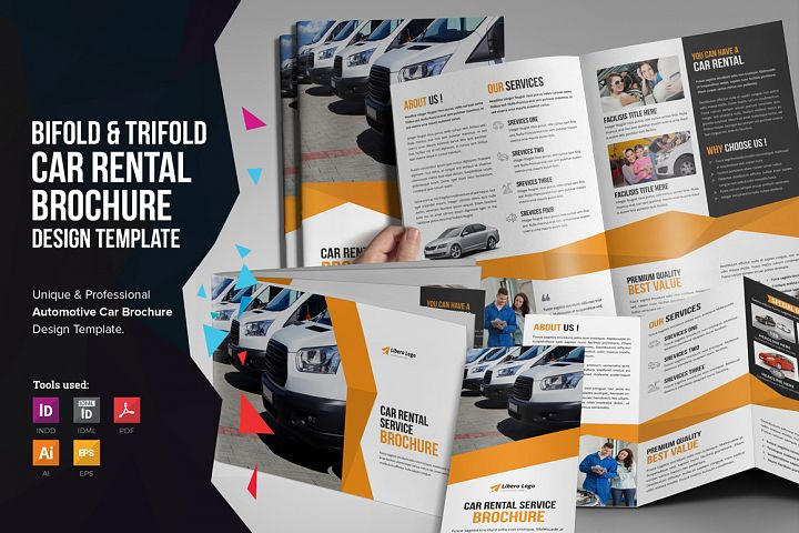 Auto Car Rental Service Brochure v1