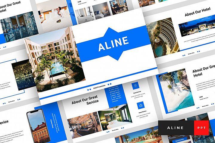 Aline - Hotel PowerPoint Template
