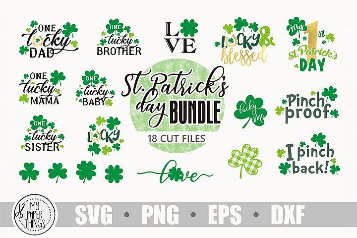 St. Patricks day svg bundle