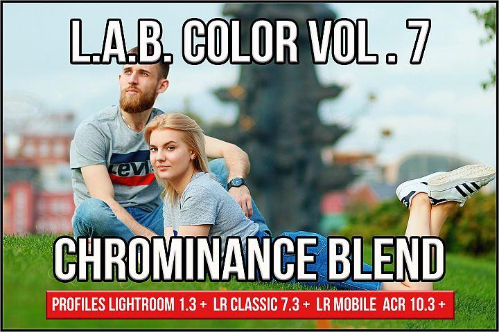 LAB Color Vol. 7 - Chrominance Blend profiles Lightroom ACR
