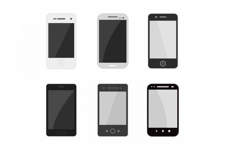 Set of smartphones