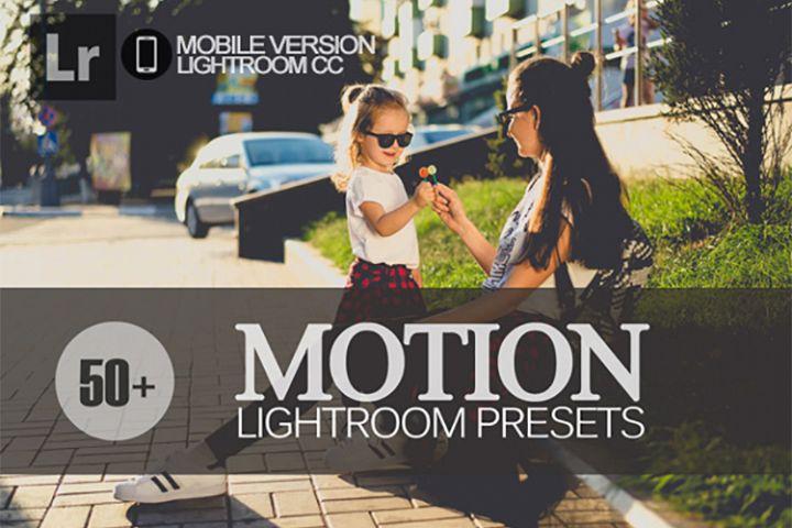 50 Motion Lightroom Mobile bundle Presets