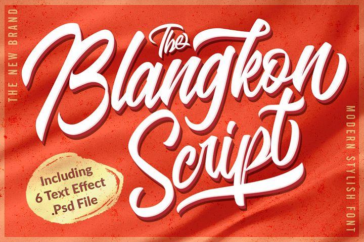 The Blangkon Script