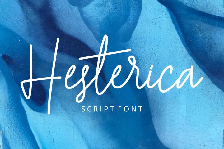 Hesterica | Script Font