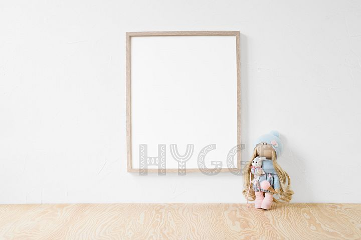 Nursery Frame Mockup, Simple Poster Mock Up, Christmas Frame