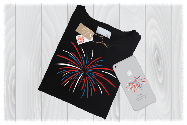 Firework SVG Files for Cricut Designs | 4th of July SVG