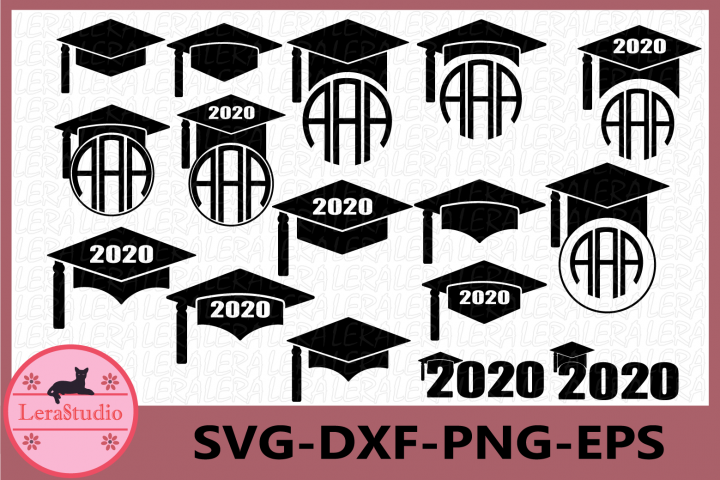 Graduation 2020 SVG, Graduation Cap SVG, Graduation Caps,Hat