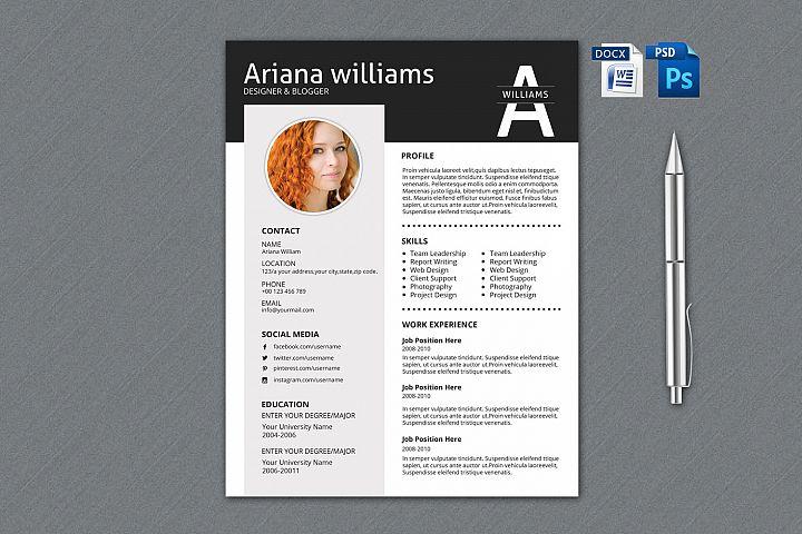 Resume Template | Cv Template, Professional Resume