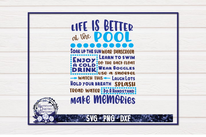 Life is Better in the Backyard SVG