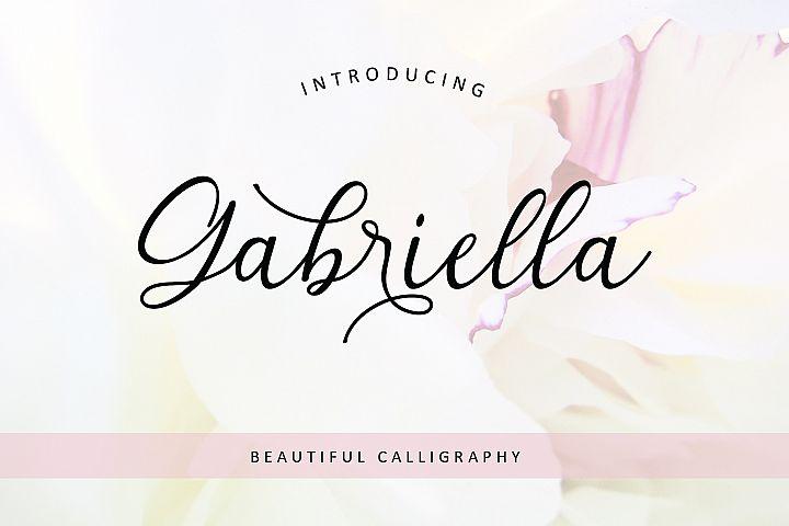 Gabriella Modern Calligraphy