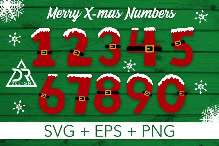 Merry Xmas Numbers