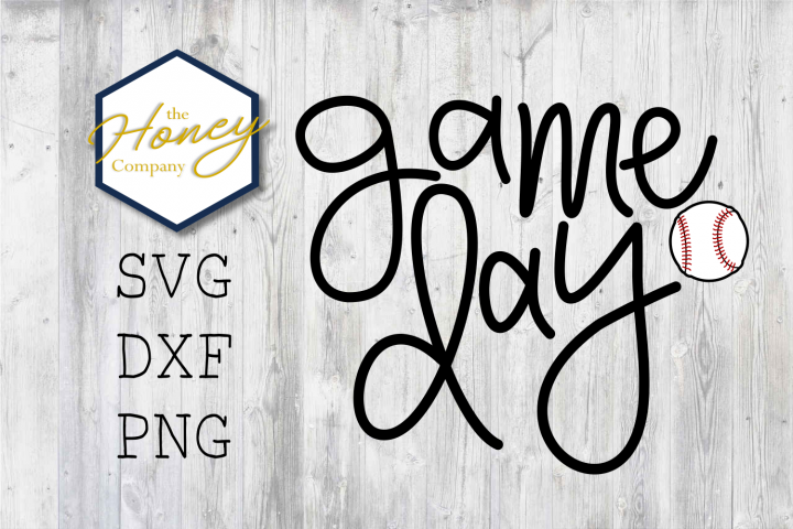 Baseball Game Day SVG PNG DXF Cutting File Mom Summer Vector