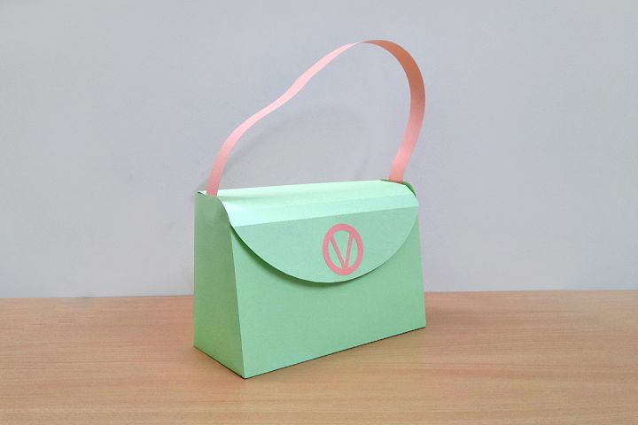 DIY Handbag - 3d papercraft
