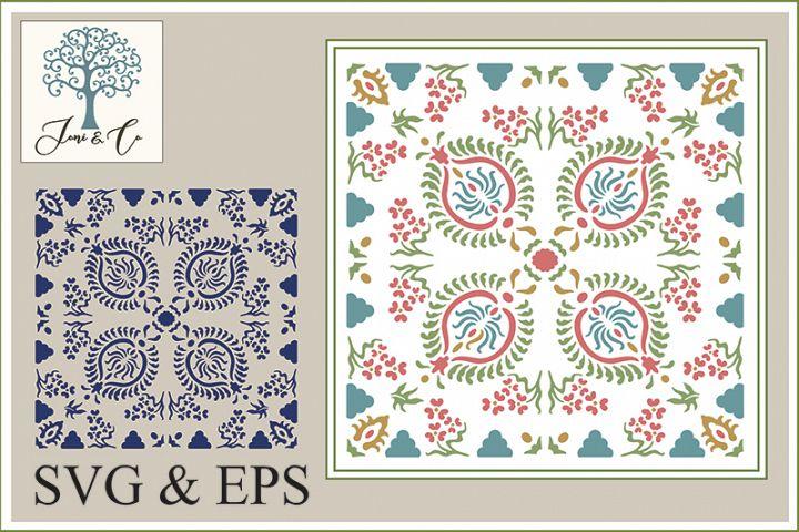 India 1 textile block