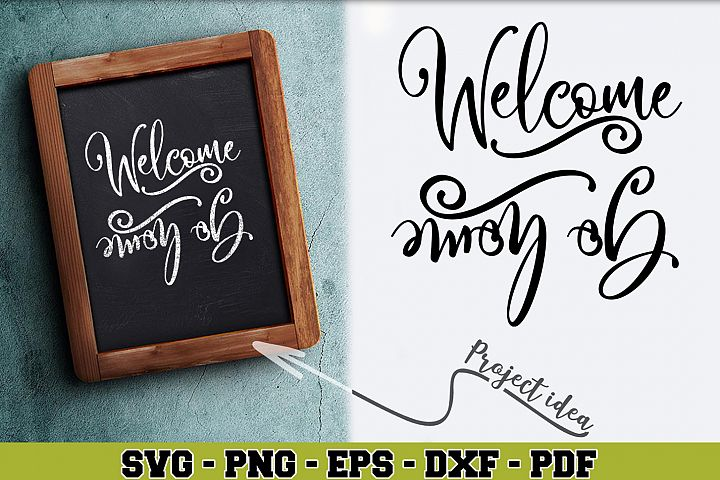 Home SVG n192 | Welcome Go Away