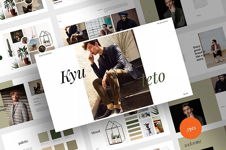 Kyuleto - Powerpoint Brand Guidelines Template