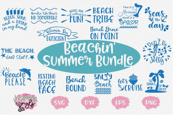 Beachin Summer Bundle - A Summer SVG Bundle