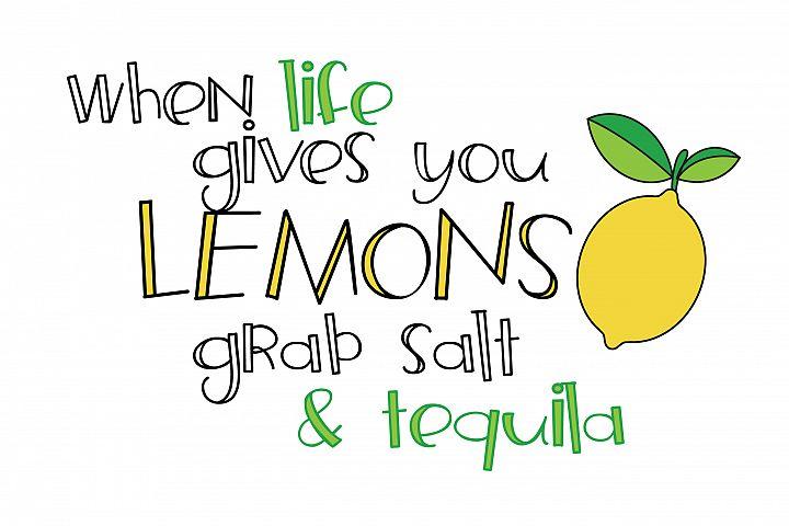 ZP Frozen Lemonade - Free Font of The Week Design2