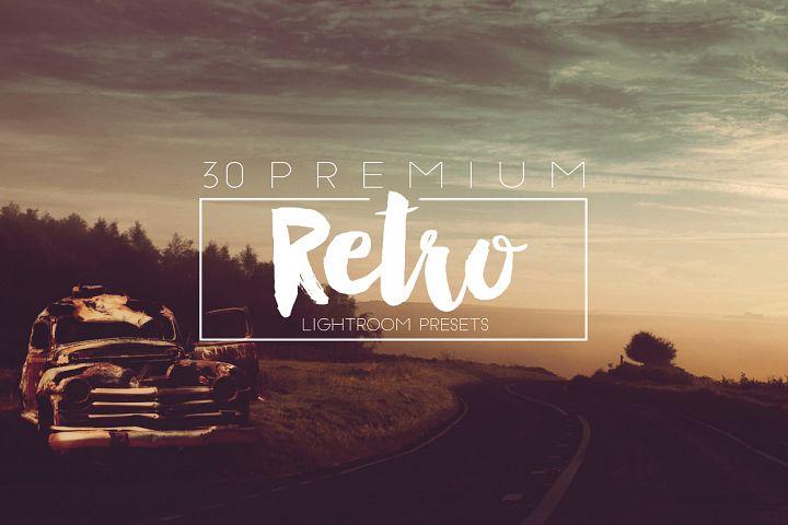 Retro Lightroom Presets