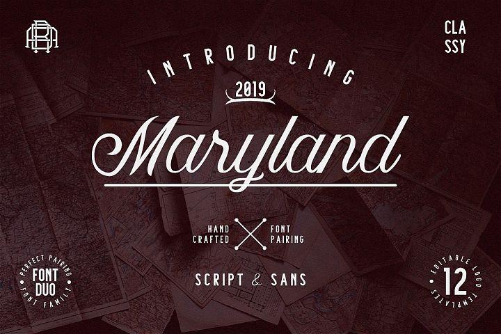 Maryland | Classy Font