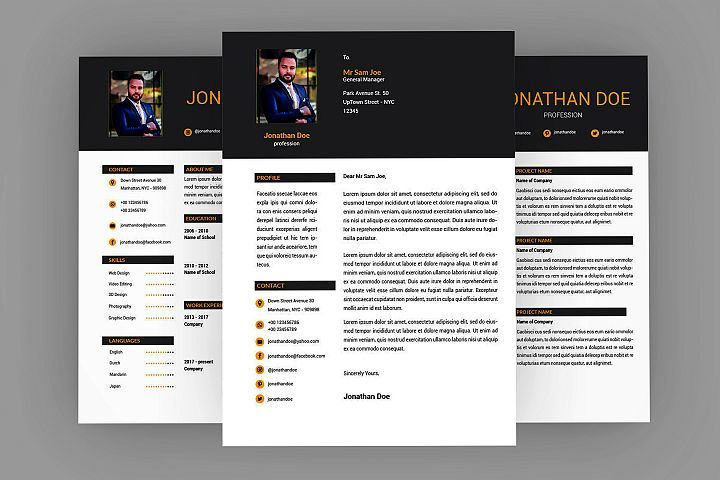 Page Resume Designer