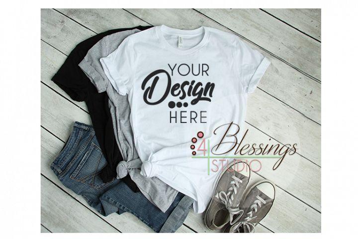 Bella Canvas Mockup T Shirts Short-Sleeve T-Shirt 3001
