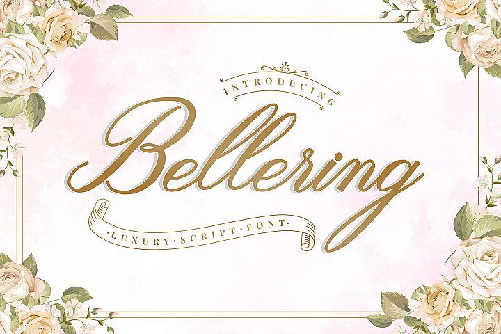 Bellering - Script Font