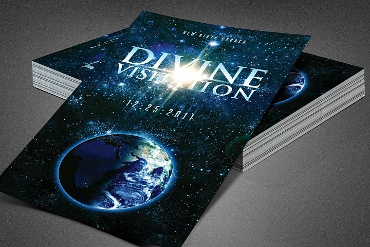 Divine Visitation Church Flyer Template