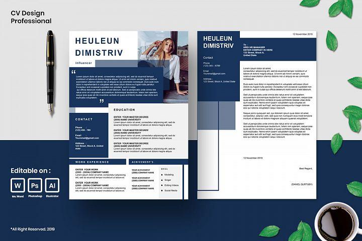 Cv Design Template Professional Vol.5
