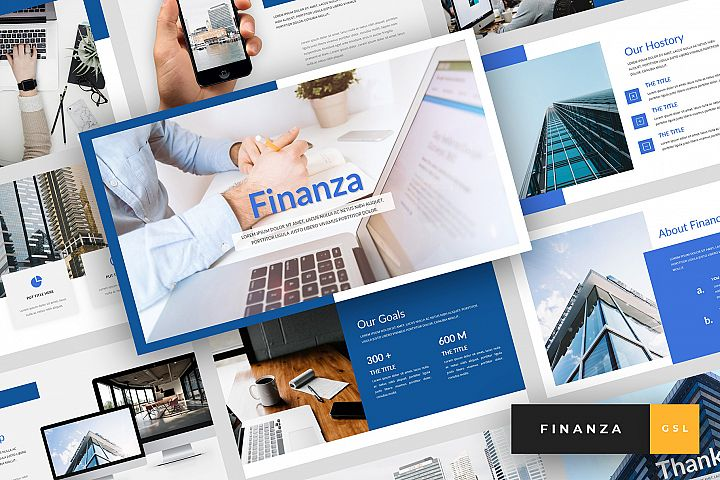 Finanza - Finance Google Slides Template