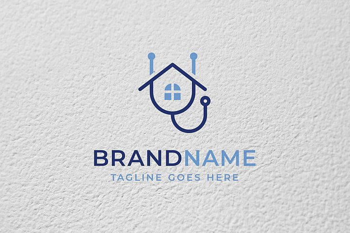 Home Doctor Logo Template