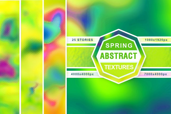 Spring abstract textures