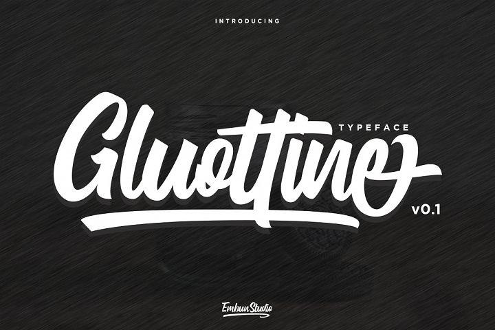Gluottine Typeface