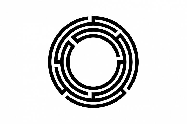 maze symbol vector
