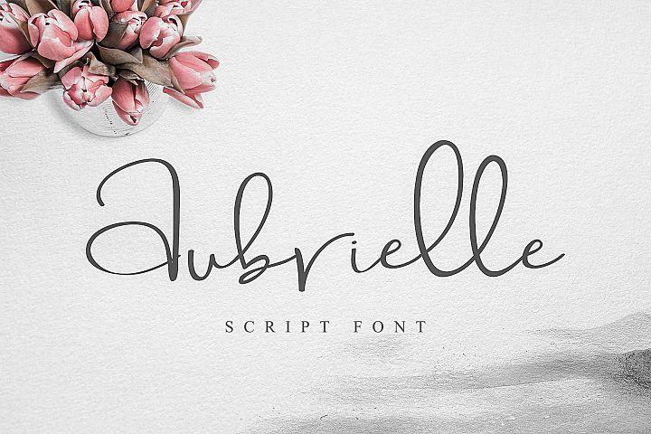 Aubrielle Script Font