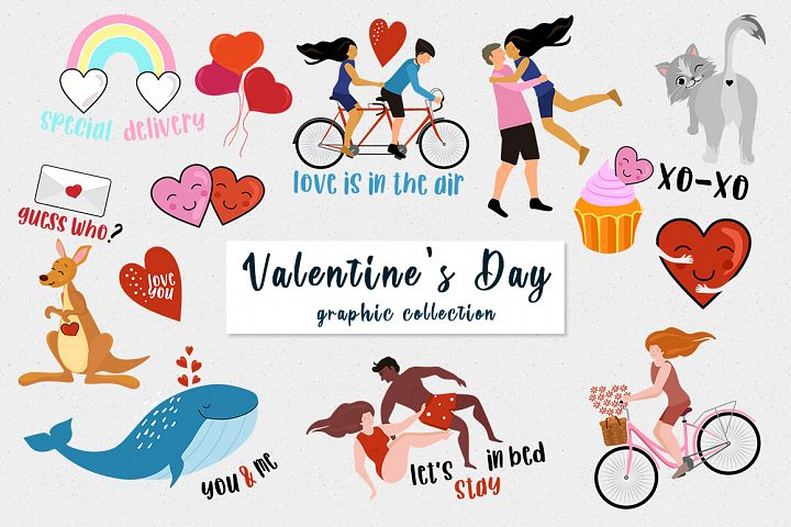 Valentines Day vectors and cards