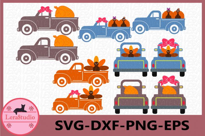 Thanksgiving SVG, Truck Svg, Turkey SVG, Thanksgiving Truck