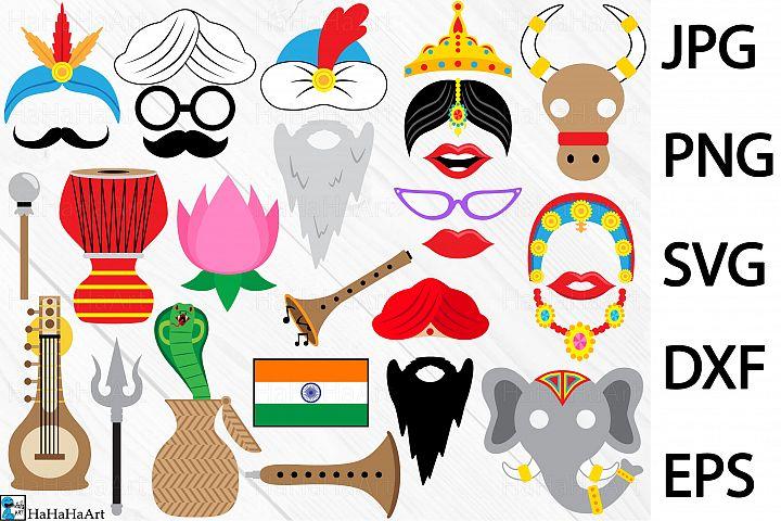 India Props - Clip art / Cutting Files 163c