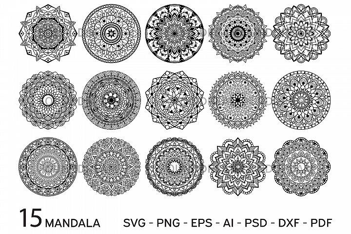 Mandala svg files