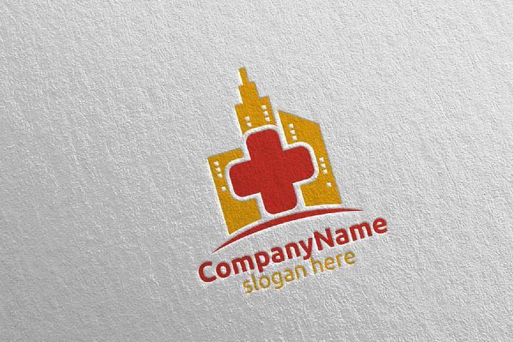 City Cross Medical Hospital Logo Design 41
